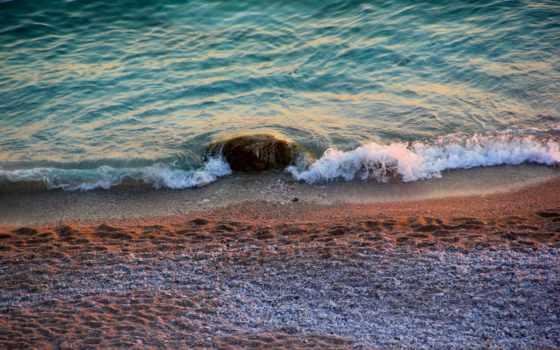 beaches, high, пляж, ocean,