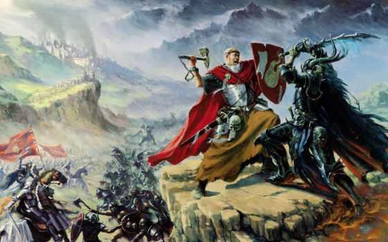 битва, добра, зла, warhammer, fb, chaos, fantasy,