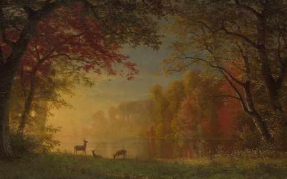 landscape, бирштадт, картинка, art, заставка, albert, print, взгляд, автор, canvas, живопись