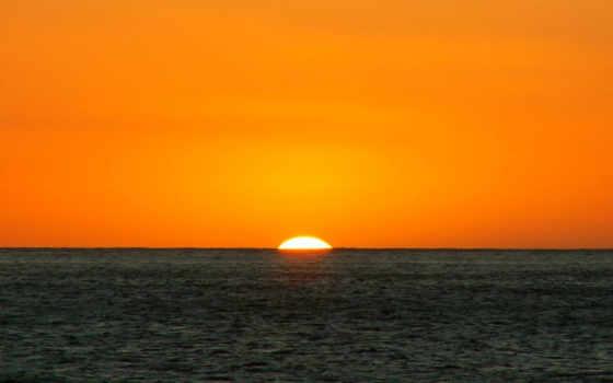 море, закат Фон № 9186 разрешение 1920x1200