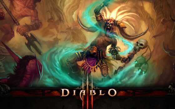 diablo, iii Фон № 28085 разрешение 1920x1080