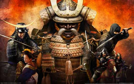 shogun, total, игры, war, samurai, games,