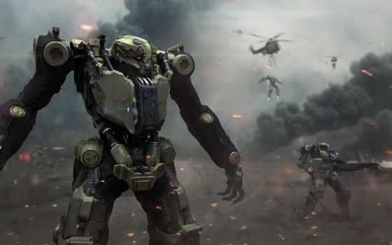 usa, роботы, армия