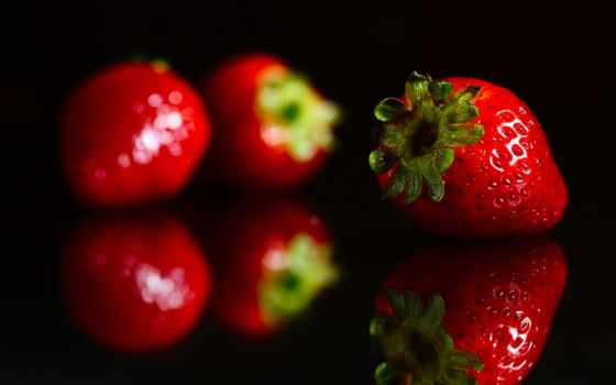 красивые, ягода, клубника