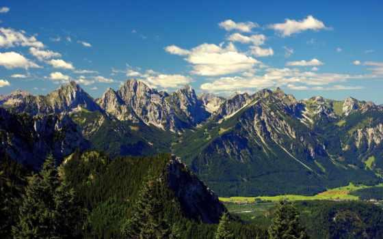 alpen, bayern, der, pin, горы, füssen, pinterest,