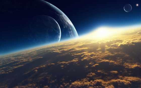красивые, планеты, cosmos, космические, векторные, взгляд, rylik, космос, системы, солнечной,