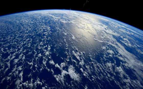 cosmos, ocean, land, космос, planet, орбита, свечение, мкс, астронавты, cosmic,