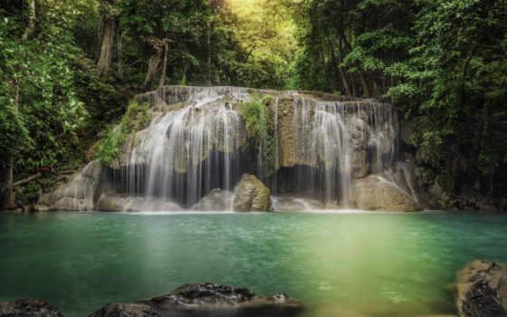 водопад, pictures, pin