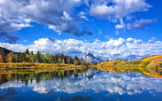 природа, grand, teton, mountains, national, solo, dance, park,