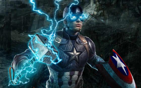 captain, america, хаммер, thor, американский