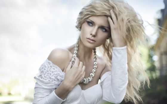 модель, блондинка, girl