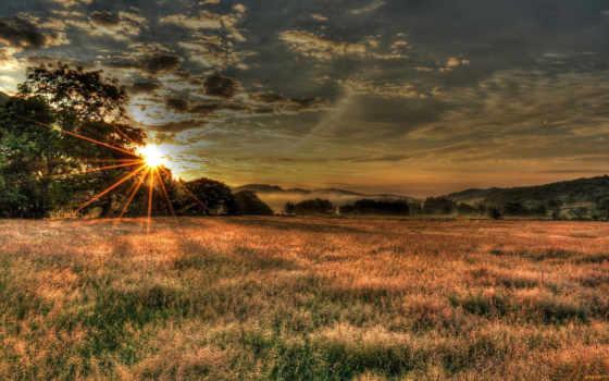 небо, природа, облака