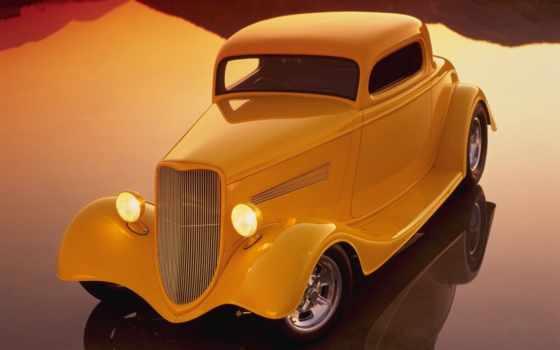 красивые, hot, авто, старинные, rod, автомобили, раритетные,