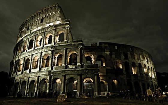 coliseum, italy, рим Фон № 125621 разрешение 1920x1200