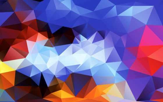 треугольник, pattern, абстракция
