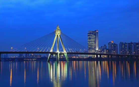 сеул, мост, олимпийский, korea, south, gu, art, bridges,