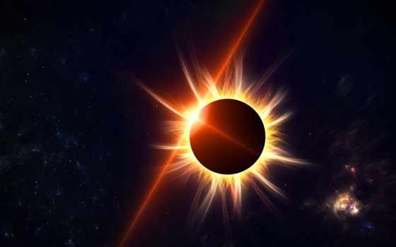 eclipse, солнечное, augusta, года, день, лунные,