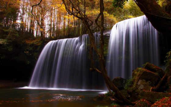 осень, яndex, анимация, gif, пожелания, коллекция, коллекциях, водопады, картинка, анимации,