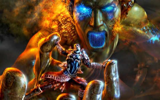 god, war, войны, zeus, creator,