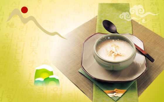 суп, еда, laba, рецепт, рис, korean, congee