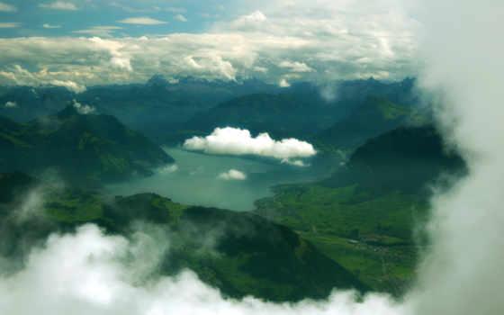 горы, озеро Фон № 22515 разрешение 4310x2868