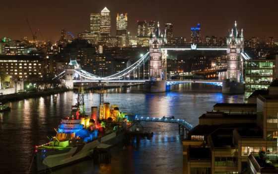 город, london