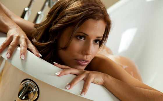 dziewczyna, маникюр, волосы, пальцы, kąpieli, ванна, красавица, vane, devushka, красивая, tapety,