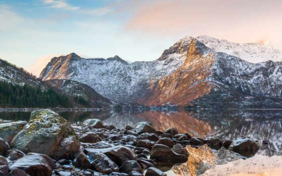 природа, озеро, горы Фон № 45791 разрешение 1920x1200