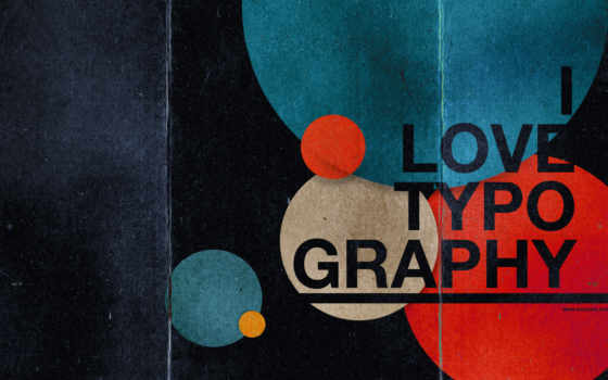 типографика, love, графика