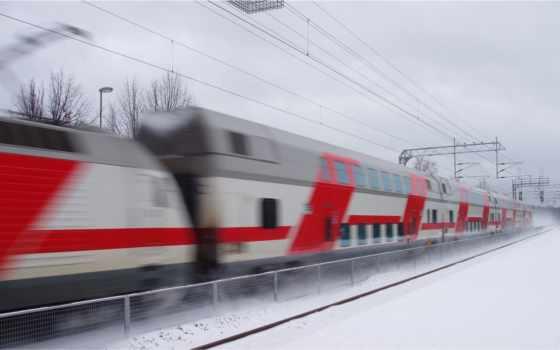 поезд, поезда, winter