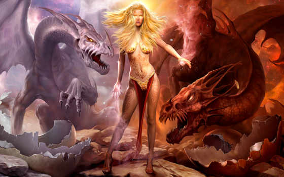fondos, pantalla, дракон, dragones, dragons, more, guerra, los, see,