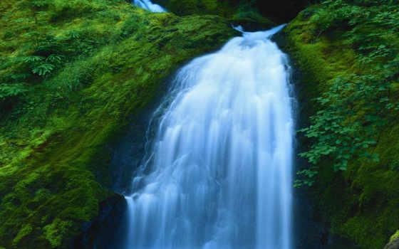 водопад, водопады, анимация, gif, живые, смайл,