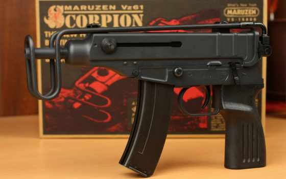 вз, scorpion, пистолет, оружие, пулемет, tags, чехия, maruzen, photos,