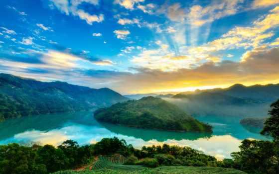 rising, природа, горы