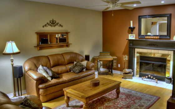 комната, living, диван