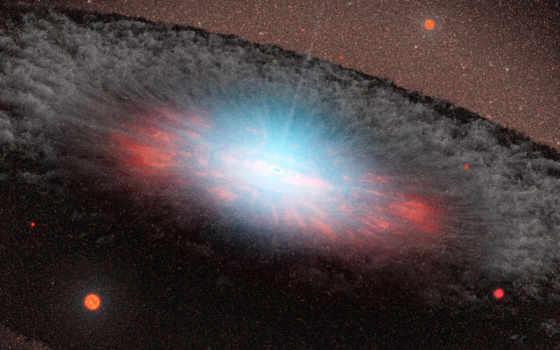 разрешения, галактик, высокого
