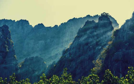 таиланд, горы, природа