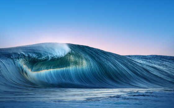 ,, волна, ветровая волна, океан, море, вода, небо, горизонт, берег, coastal and oceanic landforms,