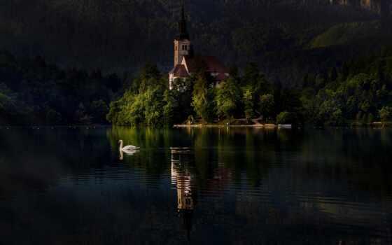 bleed, landscape, озеро, slovenia, natural, duvar, danau, sangrado, water, гора