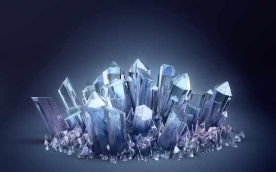 crystals, кристаллы