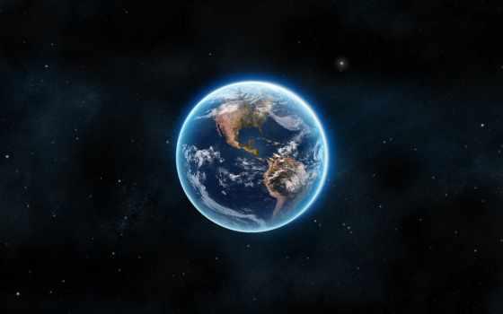 земля, космос Фон № 24139 разрешение 1920x1080