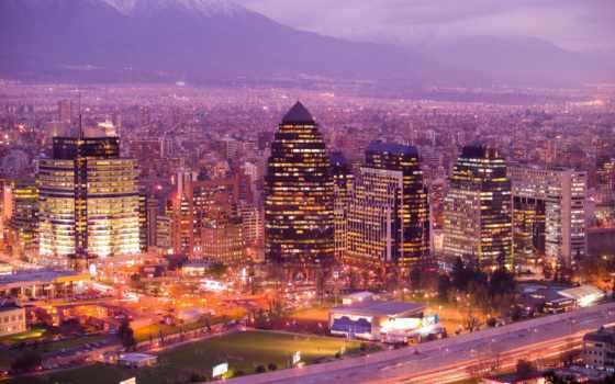 chile, сантьяго, город
