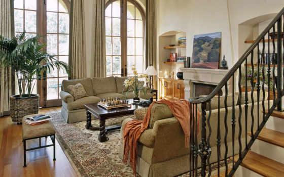 living, интерьер, мебель