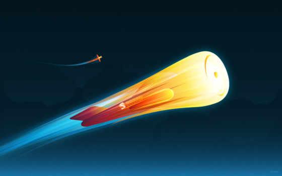 design, galaxy, ракета