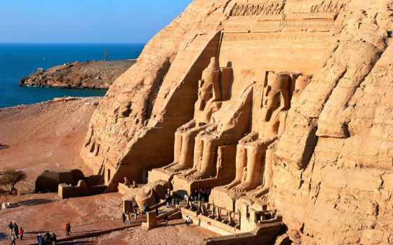 abu, simbel, египет