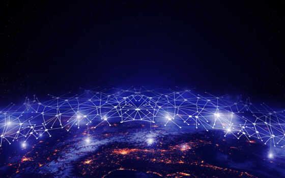 сеть, космос, ipad, свет, land, blue, компьютер, ноутбук, galaxy