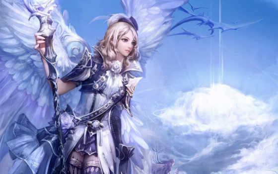 aion, tower, desktop, wallpapers, fantasy, wallpaper, and, eternity, computer, girl, wings, to, picture, angel, server, ها, игры, hd, free, collection,