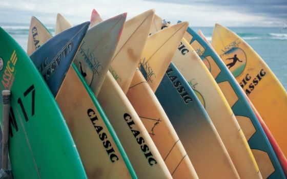 сёрфинг, море, доски