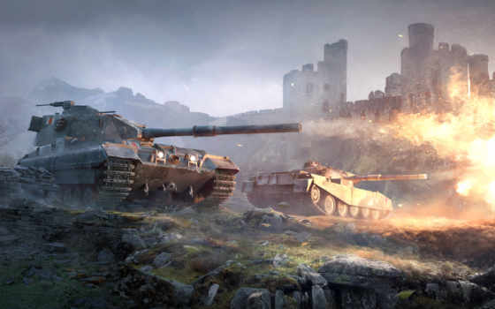 world, tanks, destroyers