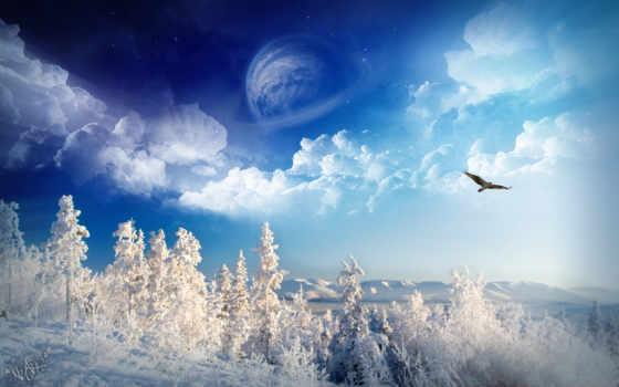 winter, весна, осень